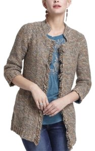 Anthropologie Marled Peat Sparrow Cardigan