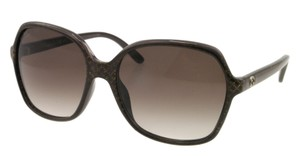 Gucci NEW Gucci GG 3632/S Brown Glitter Oversize Sunglasses