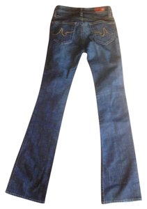 AG Adriano Goldschmied The Angel Boot Cut Jeans-Dark Rinse