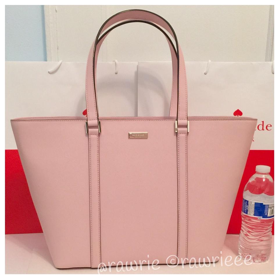 c63feb6fae03 Kate Spade Saffiano Leather Structured Large Oversized Tote in Pink Image 0  ...