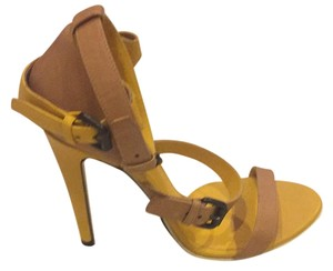 Bottega Veneta Camel and yellow Pumps