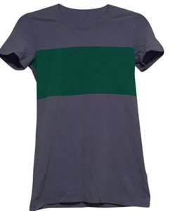 Theory T Shirt Blue and green