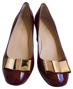 Kate Spade Bordeaux/ wine color Pumps