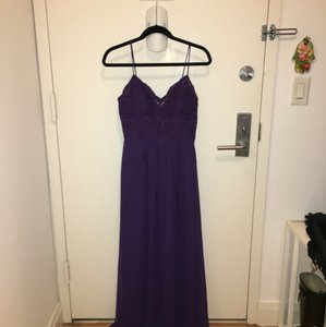 Jasmine Bridal Concorde Grape Dress