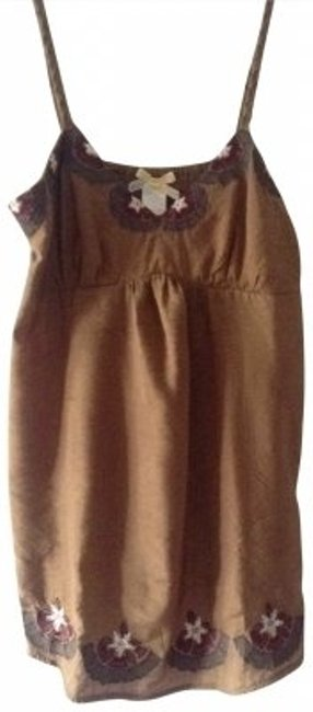 Preload https://img-static.tradesy.com/item/193954/only-mine-brown-cute-embroidery-with-rope-straps-blouse-size-12-l-0-0-650-650.jpg