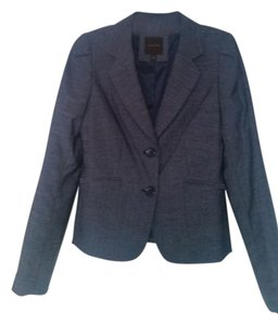 The Limited Suit Coat Blue/Grey Blazer