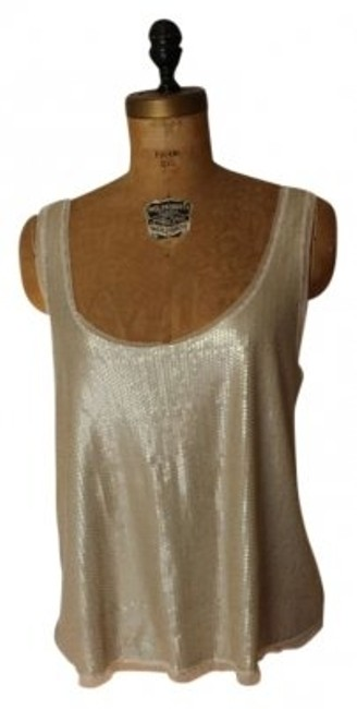 Preload https://item2.tradesy.com/images/american-eagle-outfitters-gold-sequin-tank-topcami-size-12-l-193956-0-0.jpg?width=400&height=650