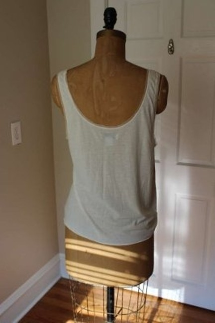 American Eagle Outfitters Top Gold Sequin