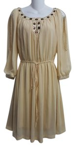 ECI New York Polyester Open Dress
