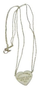Tiffany & Co. Return To Tiffany & Co Heart Pendant Necklace Double Chain