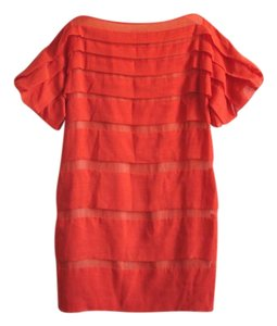 3.1 Phillip Lim short dress bright red on Tradesy