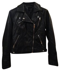 Dynamite Moto Faux Leather Quilted Leather Jacket