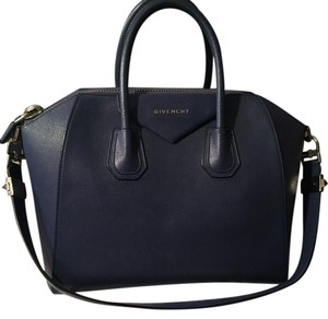 Givenchy Antigona Sugar Goat Satchel in Blue