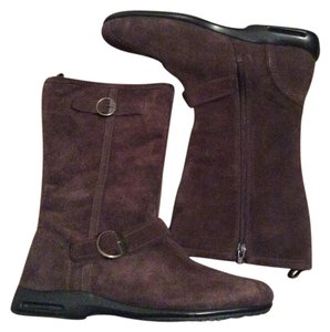 Cole Haan Chocolate Boots