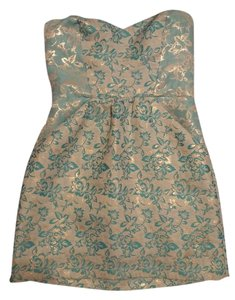 Kimchi Blue Urban Outfitters Damask Glitter Shiney Metallic Dress