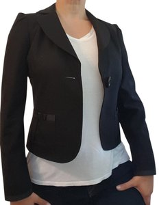 H&M Fitted Feminine Black Blazer