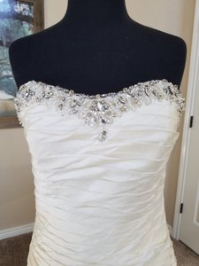 Beaded Raw Silk Princess Wedding Dress Wedding Dress