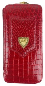 LANA MARKS RED ALLIGATOR IPHONE CASE