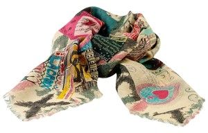 Christian Lacroix Christian Lacroix Silk and Wool Scarf