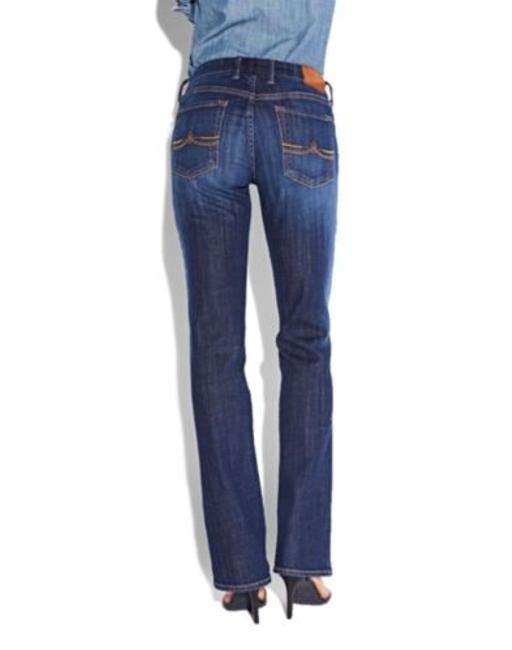 Lucky Brand Denim Classic Fit Designer S Boot Cut Jeans-Medium Wash