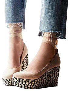 Free People Camel Wedges