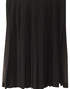 BCBGMAXAZRIA Dressy Pleated Skirt Black