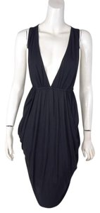 7 For All Mankind Ruched Racer Back Dress