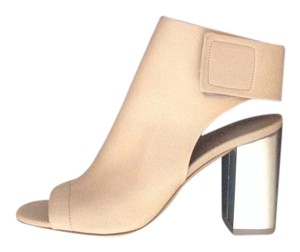 Vince Bootie Leather Nude Boots