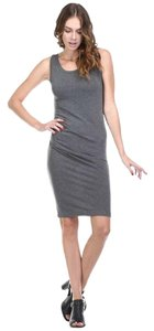Maronie short dress Heather Charcoal & Heather Navy on Tradesy