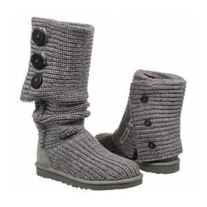 UGG Australia Classic Cardy Size 9 Gray Boots