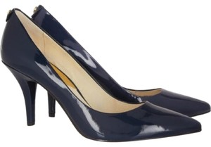 Michael Kors Patent Pump Navy Pumps