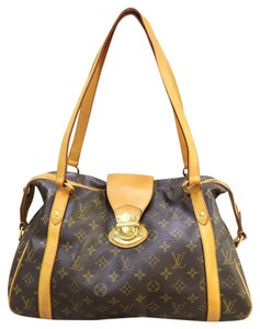 Louis Vuitton Lv Monogram Pm Stresa Tote Shoulder Bag