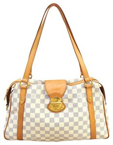 Louis Vuitton Damier Azur Stresa Lv Canvas Shoulder Bag