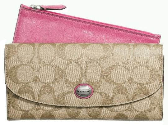 Coach Coach ENVELOPE WALLET WITH POUCH (ship via Priority Mail)