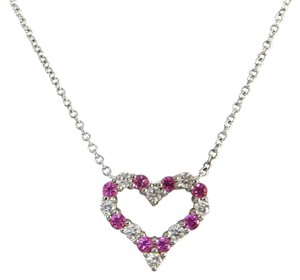 Tiffany & Co. Tiffany & Co. Diamond Heart Necklace