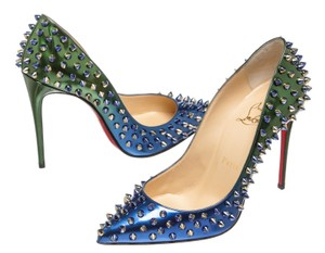 Christian Louboutin Green/Blue Pumps