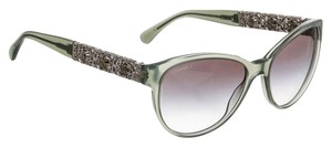 Chanel Chanel Green and Silver Bijoux Sunglasses c.1408/S3