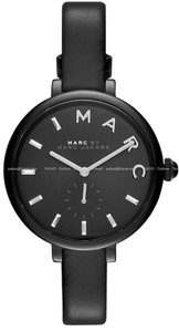 Marc by Marc Jacobs Marc Jacobs Women's Sally Three Hand Leather Watch MJ1417