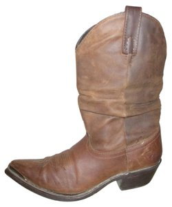 Dingo Leather Distressed Western brown Boots
