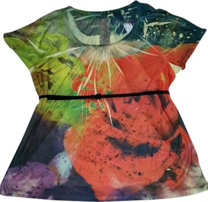 Avenue Top FLORAL MULTICOLOR