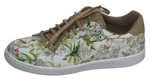 Nike Liberty Leather Floral Print Imported Limited Edition White Athletic