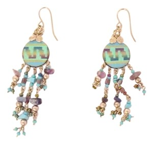 Navajo Beaded Dangle Earrings