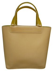 Lamarthe Paris Made In Italy Tote in Mustard Yellow