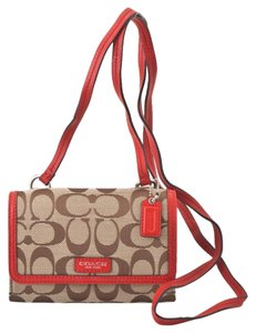 Coach Coach crossbody phone case Coach phone wallet (ship via Priority Mail)