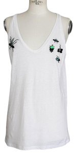 Dsquared2 Tee Insects Bugs Top White