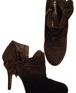 Bamboo Chocolate Boots