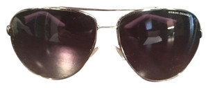 A|X Armani Exchange Silver and white sunglasses