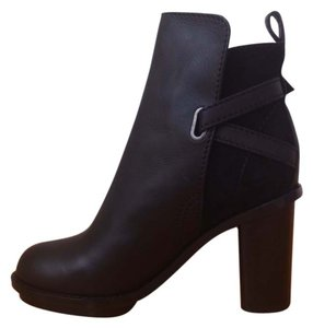 Acne Leather Black Boots