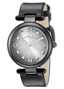 Marc by Marc Jacobs Marc Jacobs Women's Dotty Three Hand Leather Watch MJ1410