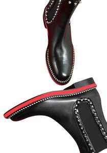 Christian Louboutin Black and red Boots